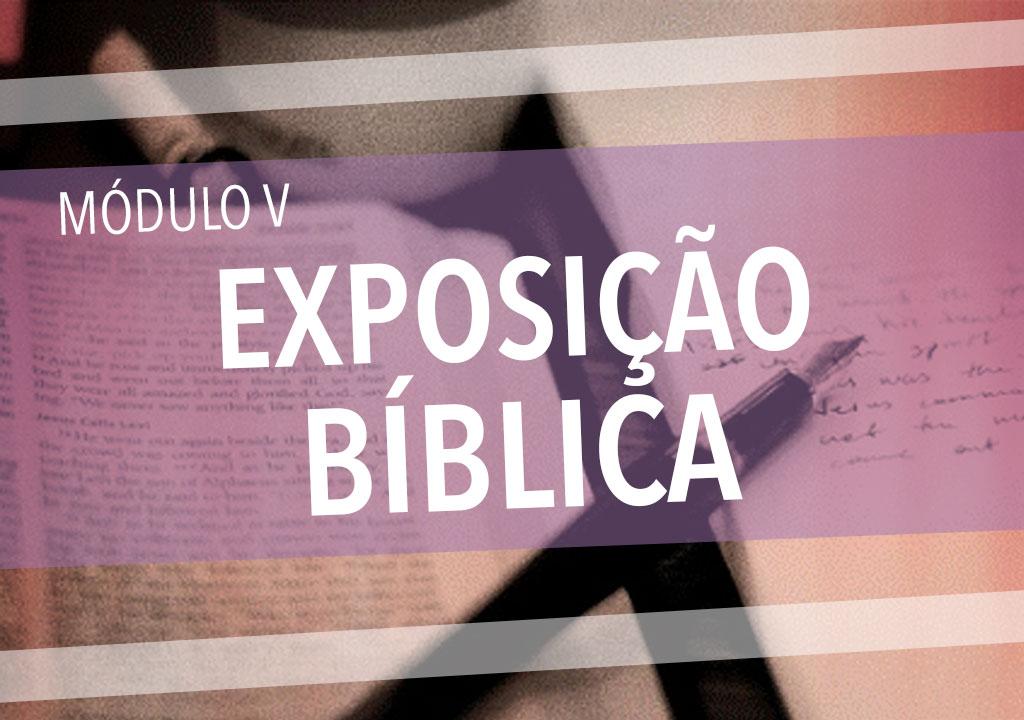 Módulo V: Exposição Bíblica (Teologia: curso básico)